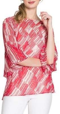 Nic+Zoe Zambra Bell-Sleeve Top
