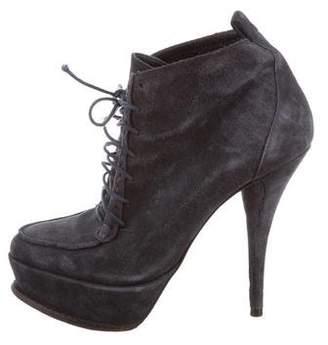 Elizabeth and James Platform Ankle Boots