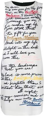 Moschino Love Letter print dress