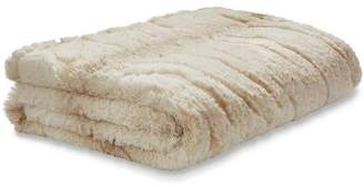 Catherine Lansfield Ghost Faux Fur Throw