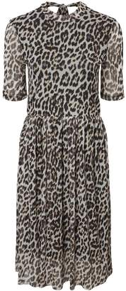 bc48dfc78c43 Dorothy Perkins Womens    Vero Moda Multi Colour Leopard Print Midi Skater  Dress