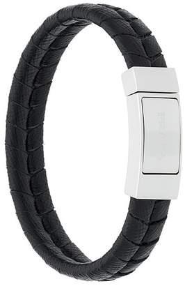 Prada woven leather bracelet