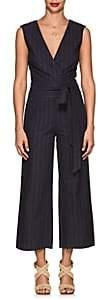 L'Agence Women's Joslyn Striped Cotton-Linen Jumpsuit