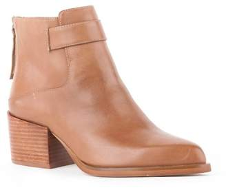 SEY Collection Talent Stacked Block Heel Ankle Bootie