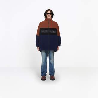 Balenciaga Oversize wool tracksuit jacket
