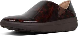 FitFlop Superloafer Tortoiseshell-Print Loafers