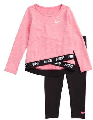 Nike Sport Essentials Dri-FIT Top & Leggings Set