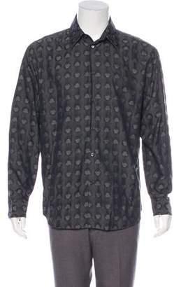 Gianni Versace Woven Jacquard Shirt