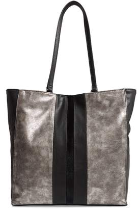 Sondra Roberts Colorblock Faux Leather Tote