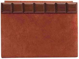 Saint Laurent Vintage Red Suede Clutch Bag