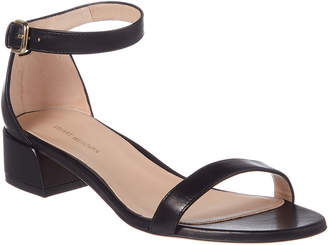 Stuart Weitzman Nudistjune Leather Sandal