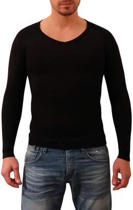 2e1c136b20 SODACODA Men s Body Slimming Tummy Shaper Vest - Compression Shirt ...