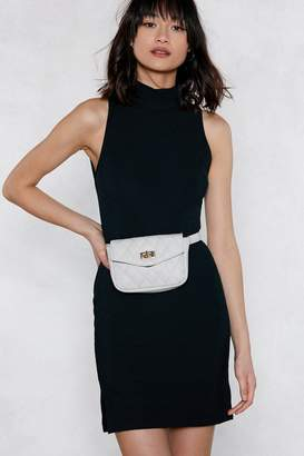 Nasty Gal WANT You Haven't Failed Quilted Belt Bag