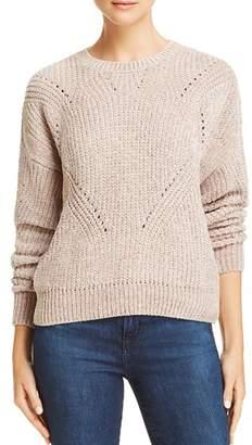 Aqua Chenille Pointelle Sweater - 100% Exclusive