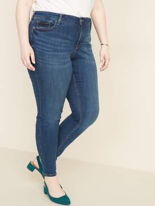 Old Navy High-Waisted Secret-Slim Pockets Plus-Size Distressed Rockstar Jeans