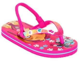 Paw Patrol Toddler Girls' Beach Flip Flop