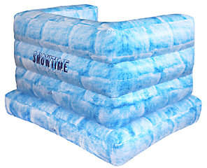 SnowTime Anytime Snowtime Anytime! Inflatable Indoor Snow Fort