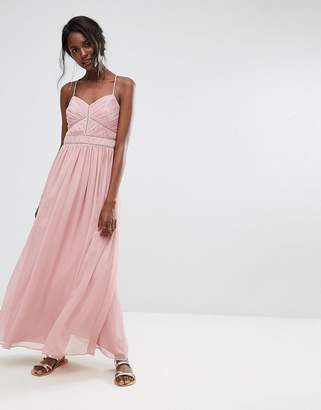 Oasis Chiffon Maxi Dress $127 thestylecure.com