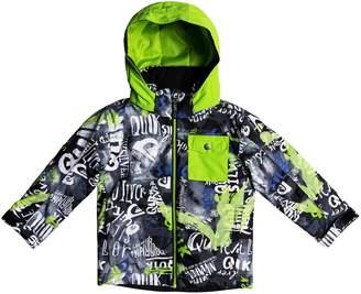 Quiksilver Little Mission Waterproof Hooded Jacket