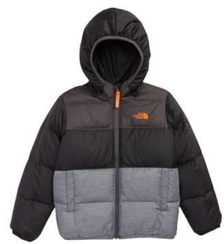 The North Face 'Moondoggy' Water Repellent Reversible Down Jacket