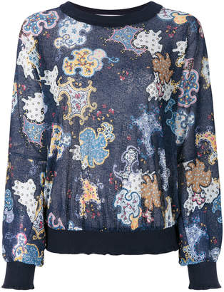 See by Chloe all-over printed sweatshirt