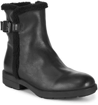 Aquatalia Waterproof Shearling Leather Boot