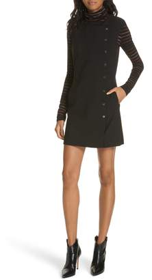 Veronica Beard Cutler Snap Front Dress