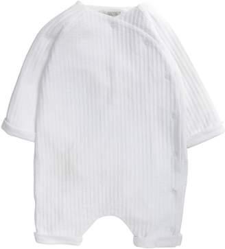 Mamas and Papas Baby Unisex Stripe Wrap Romper