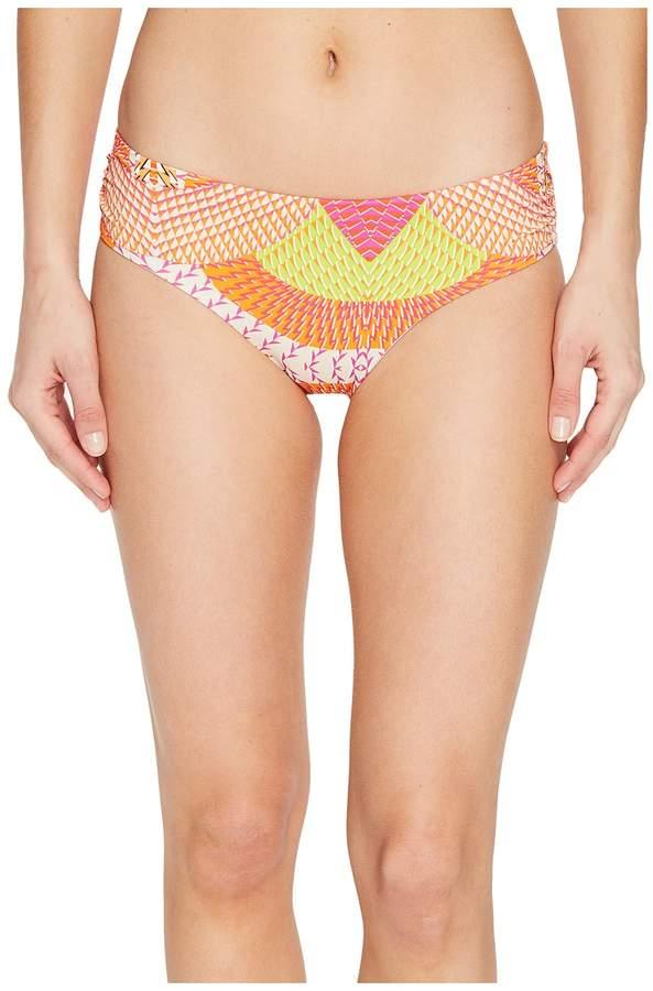 Echo Design Havana Geo Ruched Bikini Bottom