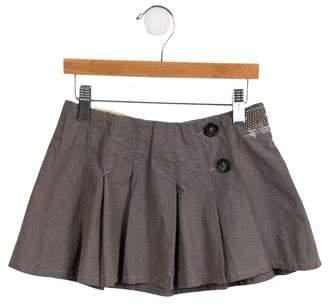 Ikks Girls' Pleated Mini Skirt w/ Tags