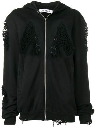 Almaz distressed hoodie
