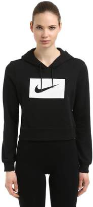 Nike Swoosh Hooded French Terry Sweatshirt