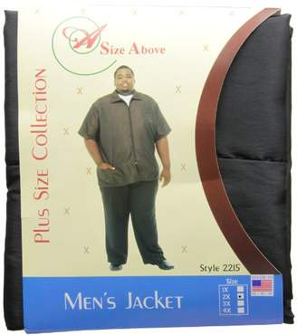 A Size Above Big & Tall Barber Jacket