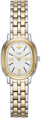 Kate Spade Staten two gold-tone stainless steel bracelet watch
