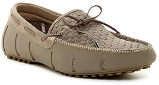 Swims Woven Lace Loafer $195 thestylecure.com