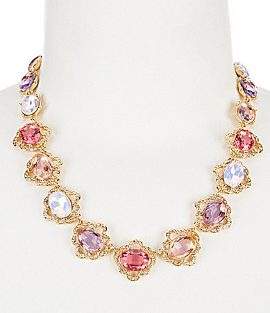 Carolee Carolee Spring Bouquet Collar Necklace