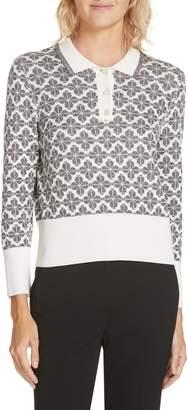 Kate Spade Floral Spade Sweater