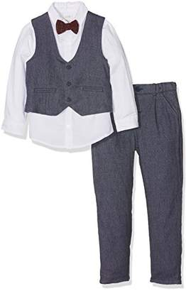Mamas and Papas Baby Boys' 4Pc W/Ct NVY St Clothing Set