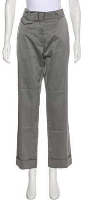 Dries Van Noten Belted Mid-Rise Pants