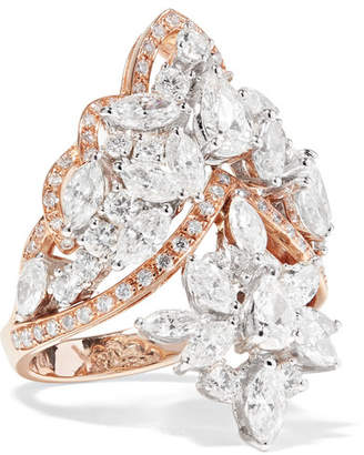 YEPREM - 18-karat Rose Gold Diamond Ring