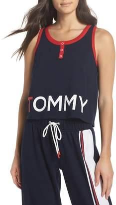Tommy Hilfiger Logo Graphic Crop Tank