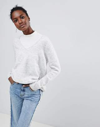 Vila V Neck Sweater