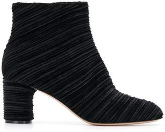 Casadei ribbed ankle boots