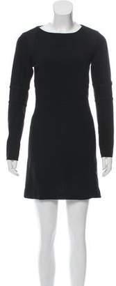 Rag & Bone Long Sleeve Bateau Neckline Dress
