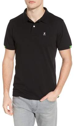 Psycho Bunny Neon Tipped Golf Polo