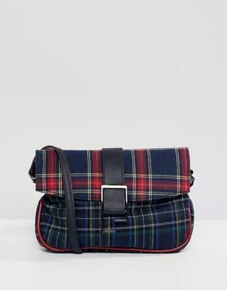 Asos Design DESIGN 90s check shoulder bag