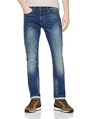 BOSS Men's Delaware Bc-l-p Straight Jeans, (Medium Blue 420), W34/L34 (Size 34)