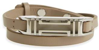 Tory Burch Fitbit Leather Wrap Bracelet