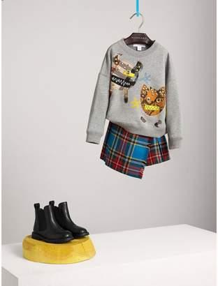 Burberry Creature Motif Cotton Sweatshirt