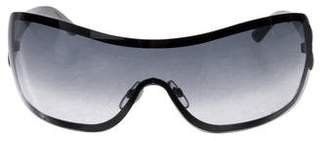 Chanel Quilted Shield Sunglasses